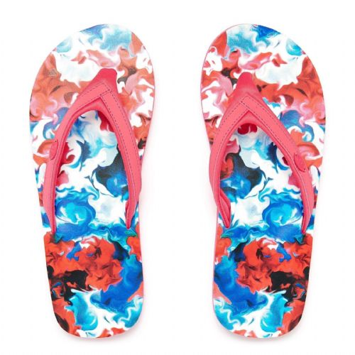 ANIMAL WOMENS FLIP FLOPS.SWISH SLIM PINK SOFT TOE POST THONGS SANDALS 8S 306 584